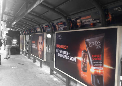 Pond's Bus Stop Ad