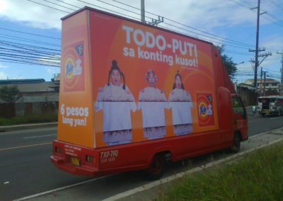 Tide Roving Truck Ad